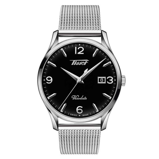 Tissot Heritage Visodate Steel Cable Watch, 40mm