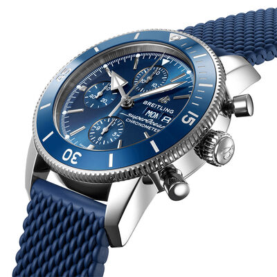Breitling Superocean Heritage Chronograph 44 Blue Dial Watch