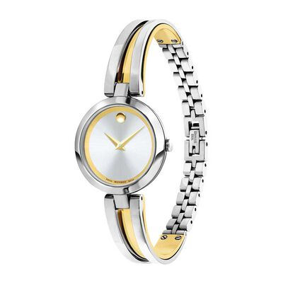 Movado Aleena Two-Tone PVD Watch