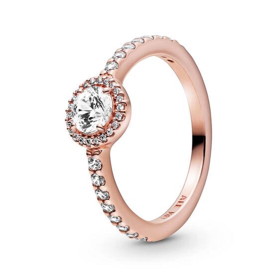Pandora Rose™ Classic Sparkle Halo CZ Ring