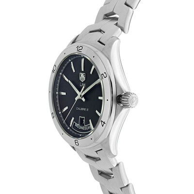 Pre-Owned TAG Heuer Link Black Dial Watch, 40mm