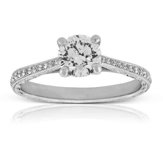 Diamond Engagement Ring 14K