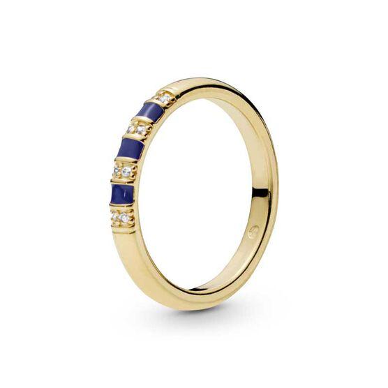 Pandora Shine™ Exotic Stones & Stripes Enamel & CZ Ring