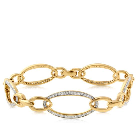 Diamond Bracelet 14K