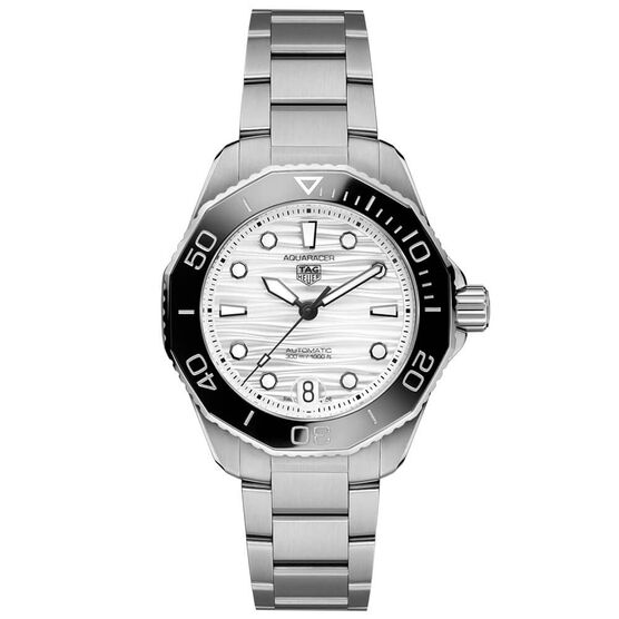 TAG Heuer Aquaracer Professional 300 Silver Steel Watch, 36mm