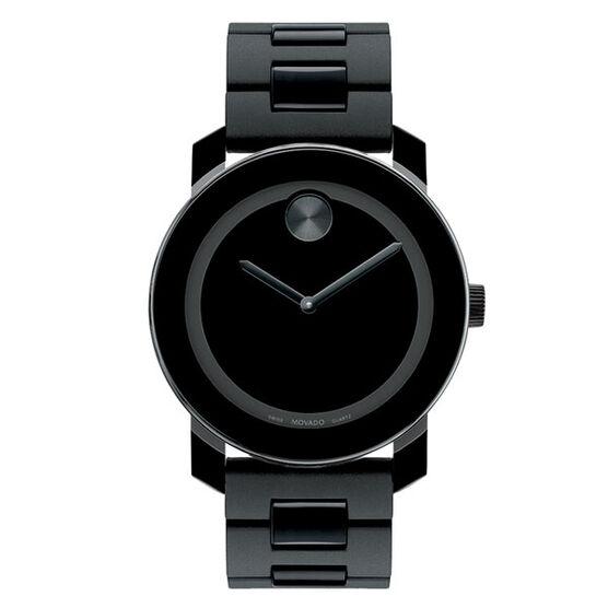 Movado Bold Black Watch