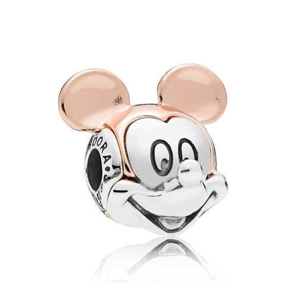 PANDORA Rose™ Disney, Two-Tone Mickey ESSENCE Portrait Charm