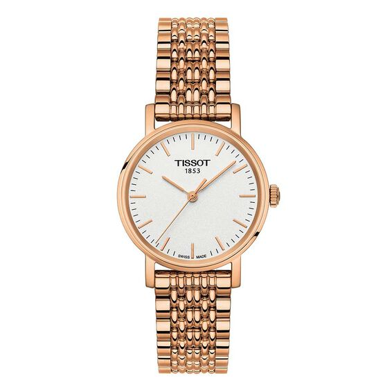 Tissot Everytime Small Rose PVD Watch, 30mm