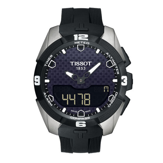 Tissot Touch Collection Solar Chrono Titanium Watch, 45mm