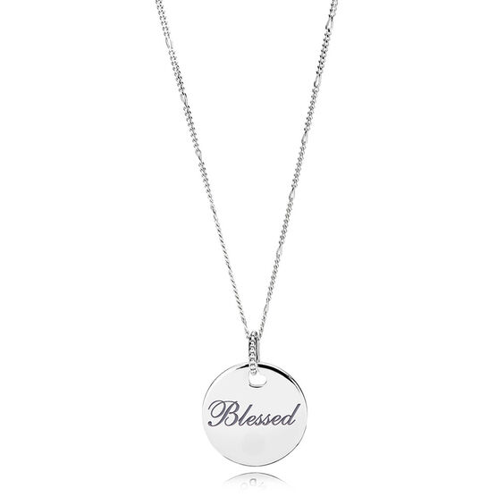 Pandora 'Blessed' Pendant / Necklace
