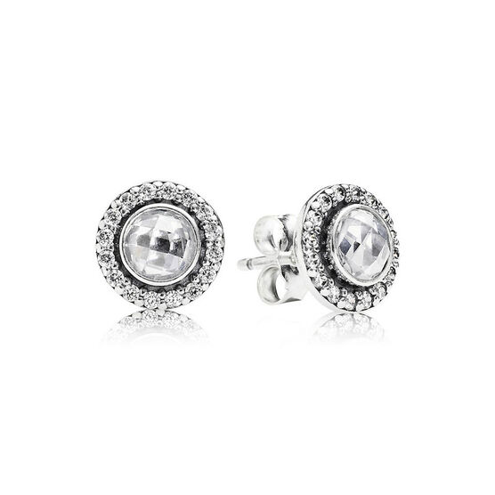Pandora Brilliant Legacy CZ Earrings