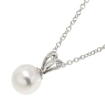 Freshwater Cultured Pearl Pendant 14K