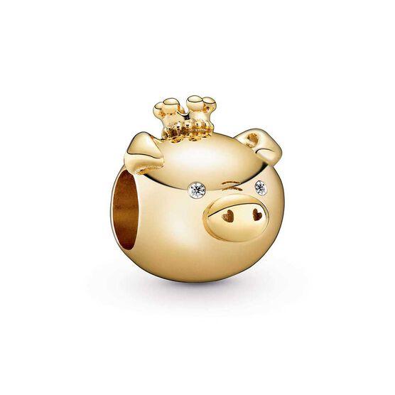 Pandora Shining Pig CZ Charm