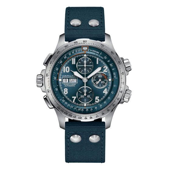 Hamilton Khaki Aviation X-Wind Automatic Chronograph Watch, 45mm