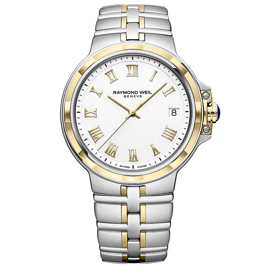 Raymond Weil Parsifal Classic White Dial Watch, 40mm