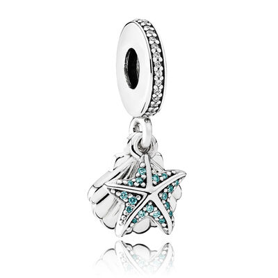 PANDORA Tropical Starfish CZ Charm