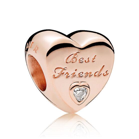 PANDORA Rose™ Friendship Heart CZ Charm