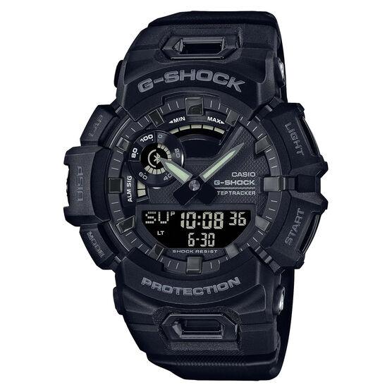 G-Shock Power Trainer Bluetooth Black Watch, 51.3mm