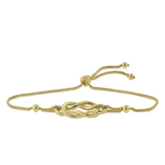 Bolo Celtic Knot Bracelet 14K