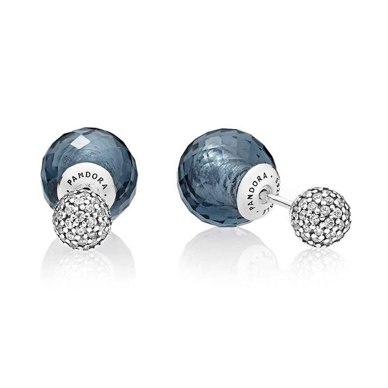 PANDORA Shimmering Drops Crystal & CZ Reversible Earrings