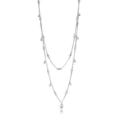 Pandora necklaces pendants ben bridge jeweler pandora chandelier droplets necklace aloadofball Choice Image
