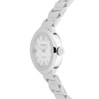 Pre-Owned Baume & Mercier PROMESSE 10182 Mother of Pearl Dial Watch, 30mm