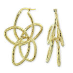 Floral Earrings 14K