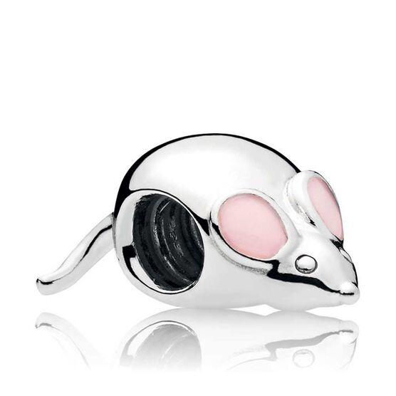 Pandora Cute Mouse Enamel Charm