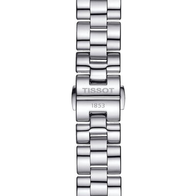 Tissot T-Wave Mother Of Pearl Dial Steel Watch, 30mm