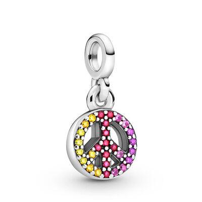 Pandora ME My Peace Crystal & CZ Dangle Charm