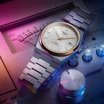 Tissot PRX Powermatic 80 Rose PVD Silver Dial Watch, 40mm