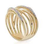 Multi-Band Diamond Ring 14K