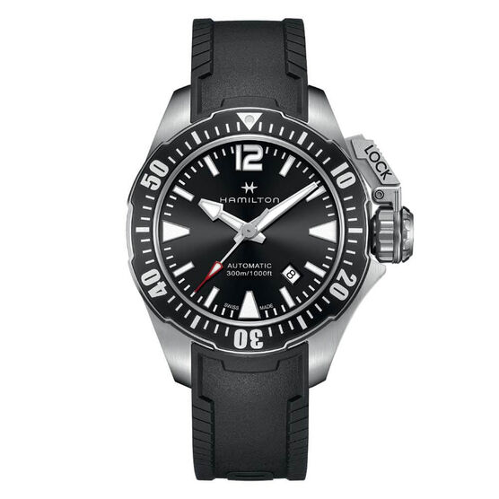 Hamilton Khaki Navy Frogman Auto Watch, 42mm