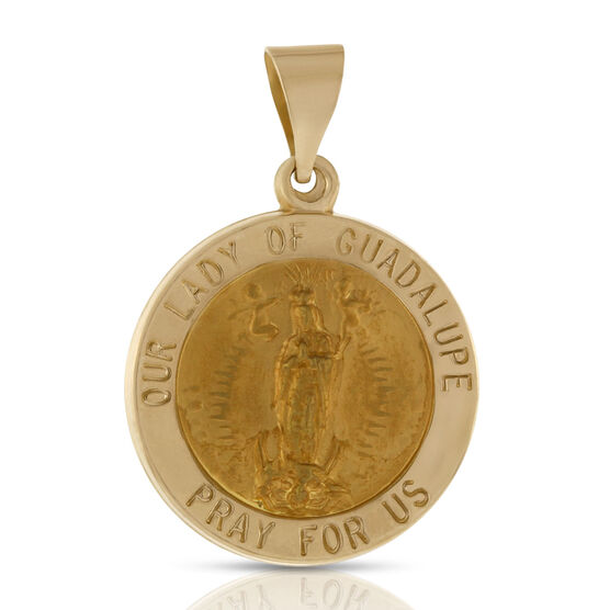 Our Lady of Guadalupe Medal 14K