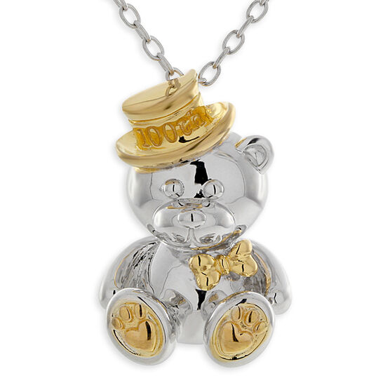 2012 Benny Bear Pendant in Sterling Silver