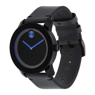 Movado Bold TR90  Black & Blue Watch