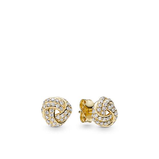 Pandora Shine™ Sparkling Love Knot CZ Earrings