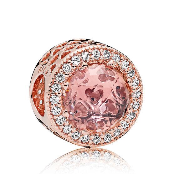 Pandora Sparkling Blush Pink Crystal & CZ Charm