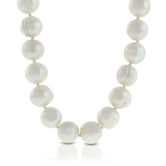 "Freshwater Cultured Pearl Endless Strand 48"", 10mm"