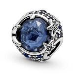 Pandora Celestial Blue Sparkling Stars Crystal & CZ Charm