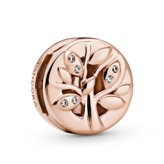 Pandora Reflexions™ Pandora Rose™ Sparkling Family Tree CZ Clip Charm