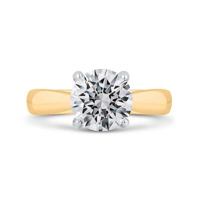 Bella Ponte Diamond Engagement Ring Setting in Platinum & 14K