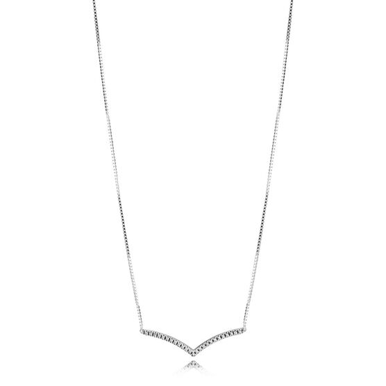 PANDORA Shimmering Wish CZ Collier Necklace