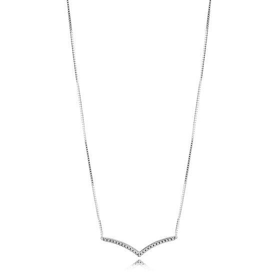 Pandora Shimmering Wish CZ Collier Necklace