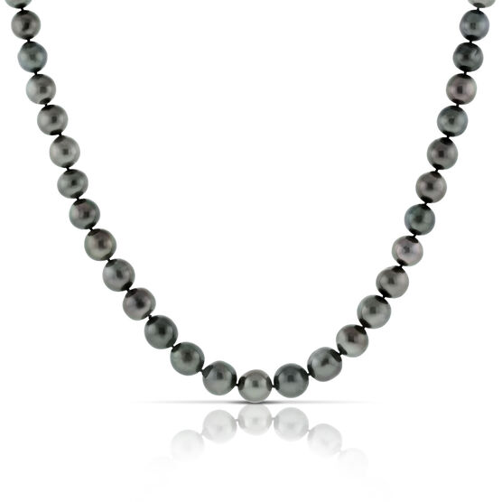 Cultured South Sea Tahitian Pearl Strand 18K, 34""