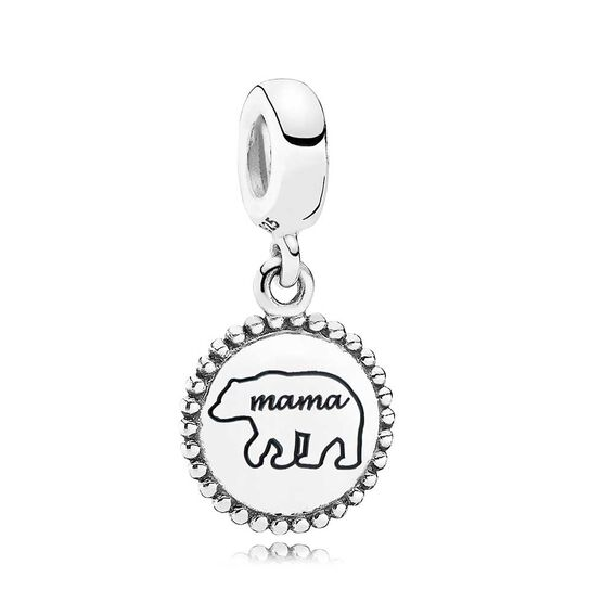 Pandora Mama Bear Dangle Charm
