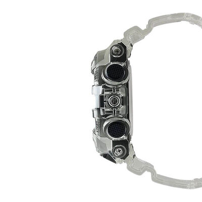 G-Shock Transparent Resin Analog Digital Watch, 57.5mm