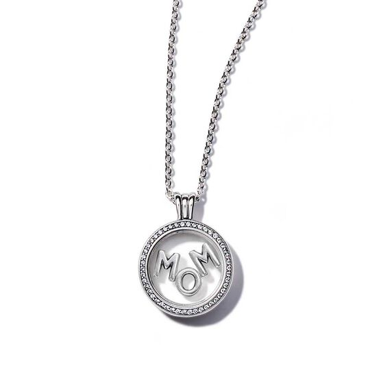 PANDORA Floating Locket Sparkling Mom Gift Set