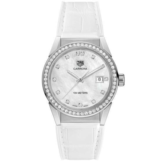 TAG Heuer Carrera Diamond Markers and Bezel Quartz Watch