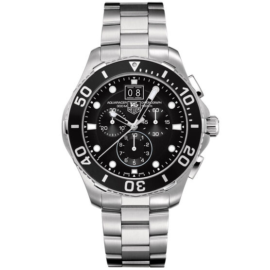 TAG Heuer Aquaracer Grande Date Chronograph Watch, 43mm